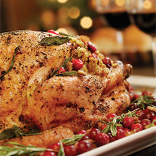 Thanksgiving Turkey And Wine 260X280
