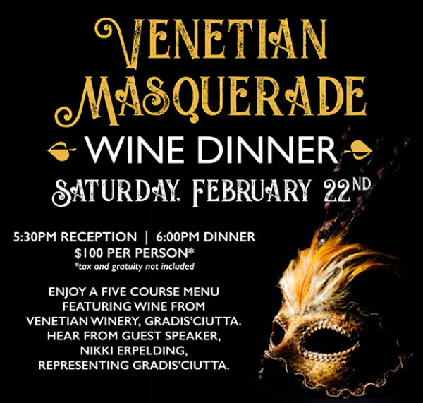 Paz Masquerade Wine Dinner Poster 010820 Email2